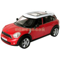 Модель автомобиля MINI COOPER COUNTRYMAN со звуком и светом 1:32