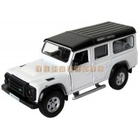 Модель автомобиля LAND ROVER DEFENDER со звуком и светом 1:36
