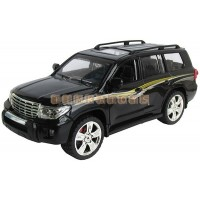 Модель джипа TOYOTA LAND CRUISER 200 со звуком и светом 1:24